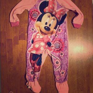 Minnie footie pajama